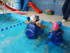 κολύμβηση ιχθείς